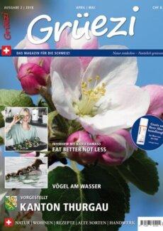 Presseartikel: Blütenwunder Dipladenia (Grüezi Magazin | Mai 2018)